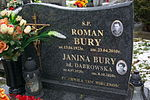 Tomb of Janina and Roman Bury at Central Cemetery in Sanok 2.jpg