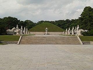 Goguryeo tombs building complex in North Korea