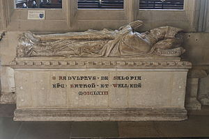 Ralph of Shrewsbury - Tomb in Wells Cathedral