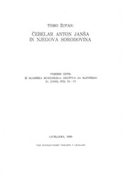 Tomo Zupan: Čebelar Anton Janša in njegova sorodovina