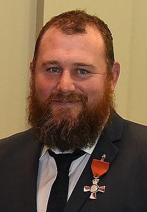 Tony Woodcock (rugby player) - Image: Tony Woodcock 2015