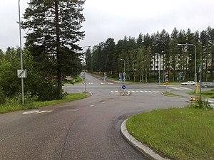 Tornitie intersection, Kajaani