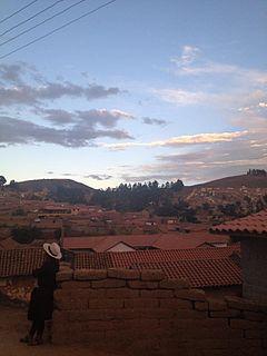 Totora, Cochabamba town in Cochabama, Bolivia