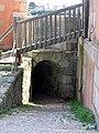 Tour Vauban - entrée débouchant dans la cour intérieure.JPG