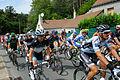 Tour de France 2011 étape 7 sortie Chaumont peloton 7.jpg
