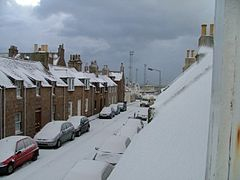 Peterhead im Winter