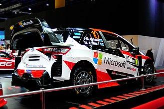 Toyota Gazoo Racing WRT - Toyota Yaris WRC - Jari-Matti Latvala - Buenos Aires Motorshow 2017