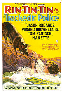 <i>Tracked by the Police</i> 1927 film by Ray Enright