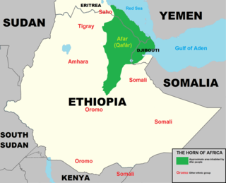 Second Afar insurgency ethnic insurgency in the Afar populated areas of Eritrea and Ethiopia
