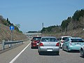TrafficJam near Nakago InterChange 20100501.jpg