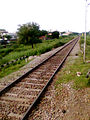 Train route to Nandyal at Dhone.jpg