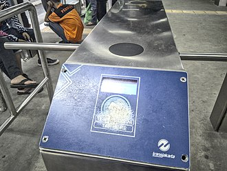 BRT Standard - Off-board fare collection through a barrier-controlled method