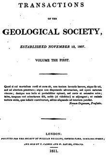 Transactions of the Geological Society, 1st series, vol. 1.djvu