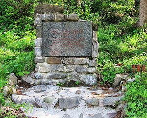 Trebenče - Image: Trebenče Slovenia Partisan memorial