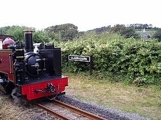 Llanbadarn Fawr, Ceredigion - Image: Tren Llanbadarn Fawr