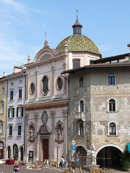 File:Trento-Santissima Annunziata from southwest.jpg