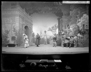 Trettondagsafton, Dramatiska teatern 1900. Föreställningsbild