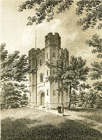 Severndroog Castle - Engraving, c. 1815
