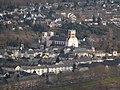 Trier Benediktinerabtei St Matthias Mariensäule.jpg