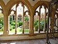 Trinitarian cloister courtyard Vianden.JPG