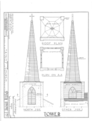 Trinity Church (Episcopal), Saint George and King Streets, Saint Augustine, St. Johns County, FL HABS FLA,55-SAUG,10- (sheet 6 of 6).png