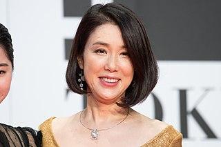 Mariko Tsutsui Japanese actress