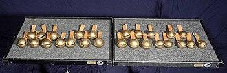 Jingle bell - Tuned chromatic sleigh bells, range F4-F6