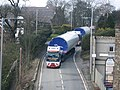 Turbine Convoy passing Edenfield Methodist Church - geograph.org.uk - 1016376.jpg