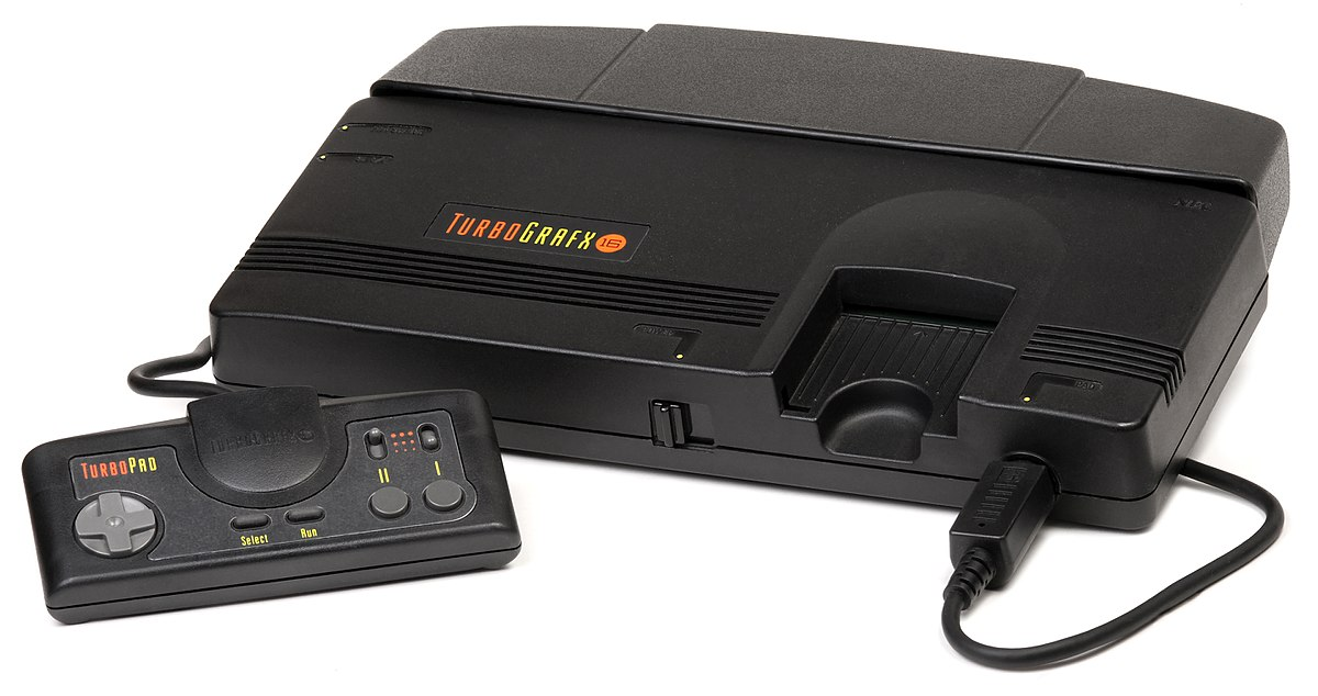 Game Console Video game black white KONAMI PC Engine mini Japan ver