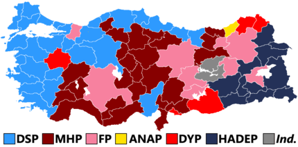Turkish general election 1999.png