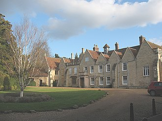 Turvey Abbey - Image: Turvey Abbey, front of main building geograph.org.uk 1199802