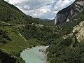 Tussen Martina en Pfunds, grensrivier met Oostenrijk 2012-08-13 15.46.jpg