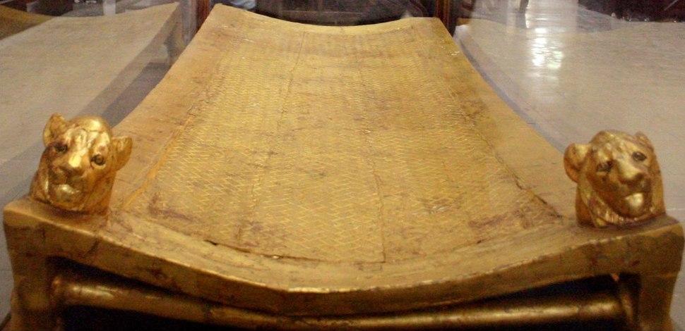 Tutankhamun's bed (Cairo Museum)