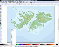 Import the bathymetric map
