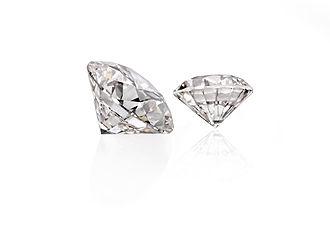 WD Lab Grown Diamonds - Two diamonds grown by WD Lab Grown Diamonds.