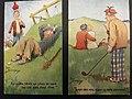 Two golf postcards by Fred Buchanan.jpg