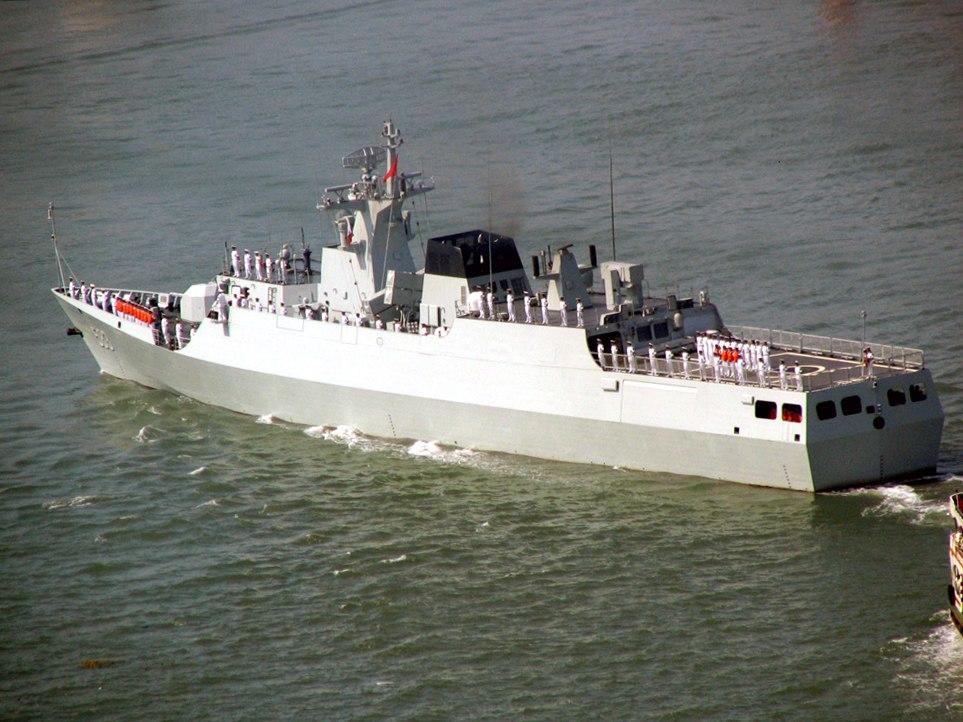 Type 056 corvette 583 Ganzhou