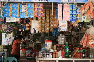 Sari-sari store - A typical sari-sari store in Bantayan