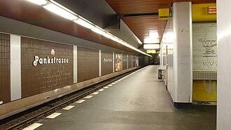 Pankstraße (Berlin U-Bahn) - Platform view