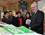 U.S. Ambassador David Shear opens safe medicine exhibition in Hanoi (6639708517).jpg