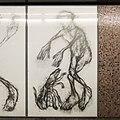 U2 Museumsquartier Kunst Bahnsteig 1 Zeichnung 02 Der Erblindete.jpg
