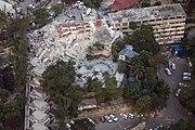 UN Haiti - MINUSTAH HQ after 2010 earthquake
