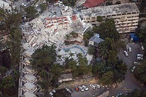 UN Haiti - MINUSTAH HQ after 2010 earthquake.jpg