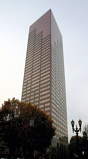 The US Bancorp Tower in Portland, Oregon