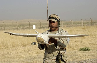 Lockheed Martin Desert Hawk - Desert Hawk preparing to be launched.