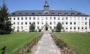 U.S. Army Garrison Schweinfurt - USAG Schweinfurt Ledward Barracks HQ Building