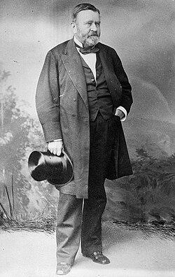 Ulysses S Grant USGrant Standing Postbellum