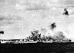 USS Alaska (CB-1) under air attack in 1945.jpg