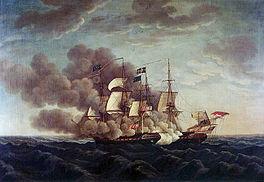 USS Constitution vs Guerriere