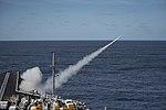 USS Dwight D. Eisenhower conducts a live-fire exercise. (26302291590).jpg